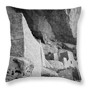 Inside Cliff Palace #2 Throw Pillow