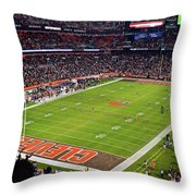 Inside First Energy Throw Pillow