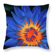 Inside Flames  Throw Pillow