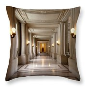 Inside Government Throw Pillow