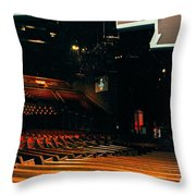Inside Grand Ole Opry Nashville Throw Pillow by Susanne Van Hulst
