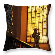 Inside Les Invalides Throw Pillow
