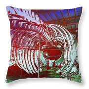 Inside Moby Dick Throw Pillow