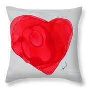 Inside My Heart 2 Throw Pillow