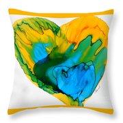 Inside My Heart 3 Throw Pillow