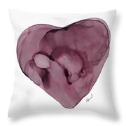 Inside My Heart Throw Pillow
