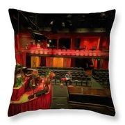 Inside Sydney Opera House Throw Pillow