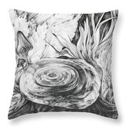 Inside The Forest Throw Pillow