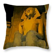 Inside The Luxor Hotel Throw Pillow