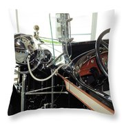 Inside The Packard - 2 Throw Pillow