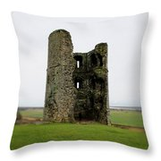 Inside The Ruins Throw Pillow