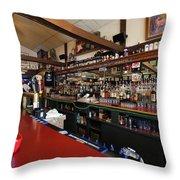 Inside The Tow Bar Throw Pillow
