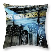 Inside The Vatican Throw Pillow