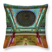 Inside Thean Hou Temple Throw Pillow