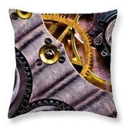 Inside Time Throw Pillow