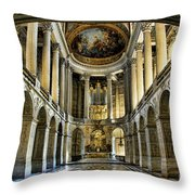 Inside Versailles  I  Throw Pillow