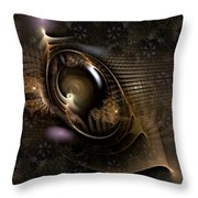 Insight Through Hindsight Throw Pillow