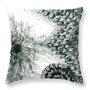 Insights From The Infinite Intelligence #655 Throw Pillow