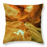Insignificance Of Man Throw Pillow