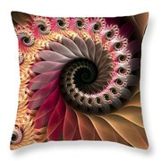 Inspiraled Throw Pillow