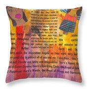 Inspiration Angels II Throw Pillow