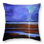 Inspiration Beach Throw Pillow