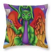 Inspiration Dragon Throw Pillow