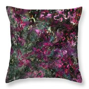 Inspiration Never Visits The Lazy Throw Pillow