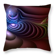 Inspiration Out Of Inanity Throw Pillow