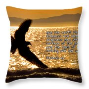 Inspirational - On The Move Throw Pillow