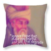 Inspirational Quotes - Motivational - 160 Throw Pillow