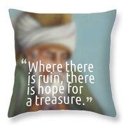 Inspirational Quotes - Motivational - 163 Throw Pillow