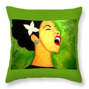 Inspired By Billie Throw Pillow