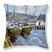 Inspired By E Gruppe Throw Pillow