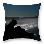 Inspired By The Mist Throw Pillow
