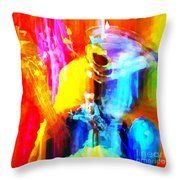 Inspired To Interpret Throw Pillow