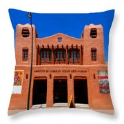 Institute Of American Indian Arts Museum Throw Pillow