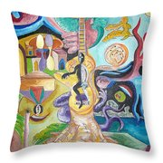 Instrumental Duties Throw Pillow