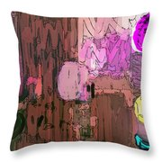 Integral Painting Throw Pillow