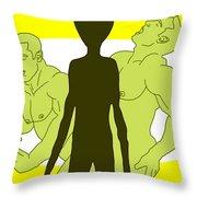 Intelligent Design Throw Pillow