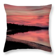 Intense Pink Throw Pillow