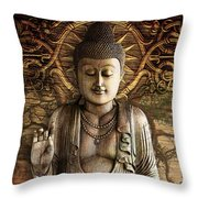 Intentional Bliss Throw Pillow by Christopher Beikmann