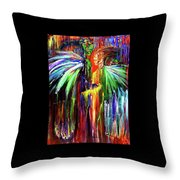 Inter-dimensional Beings Throw Pillow