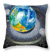 Interactive Space 2 Throw Pillow