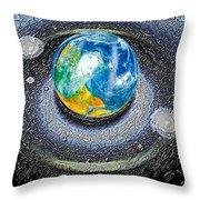 Interactive Space Throw Pillow