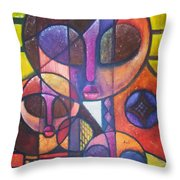 Interdependence Throw Pillow
