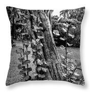 Interdependence  Throw Pillow