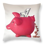 Interest Is A Lot Of... Throw Pillow
