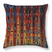 Interesting Abstract Throw Pillow