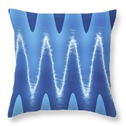 Interesting Cloud Abstract Throw Pillow